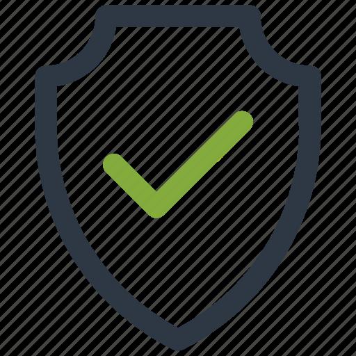 check, security, select, shield icon icon