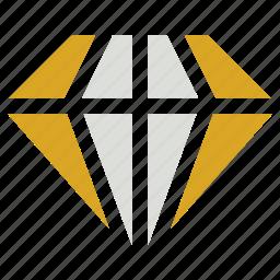 diamond, ecommerce, jewelry icon icon