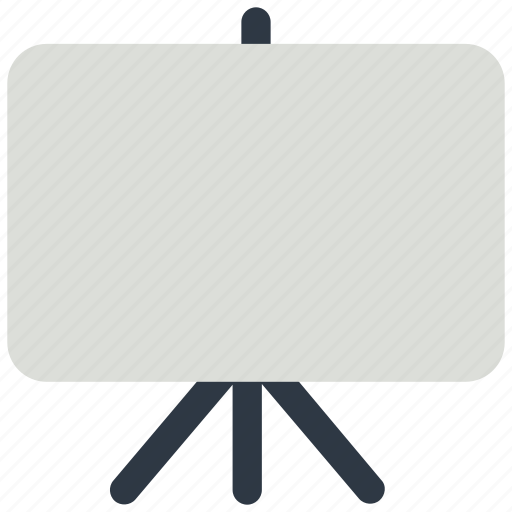 black board, board, chalk board, white board icon icon