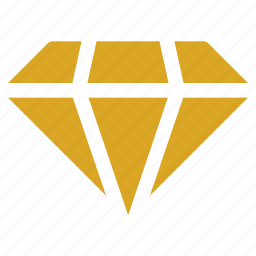 diamond, finance, gem, market, quality, ruby icon icon