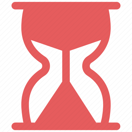 glass, handle, hour, hourglass, sand, sandglass, timer icon icon