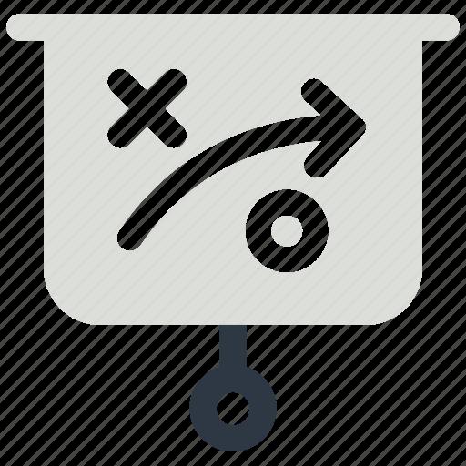 strategy, tactic, tactics icon, white board icon