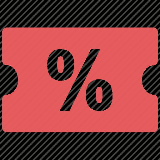 discount, percent, percent tag icon icon