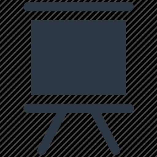 black board, chalk board, easel, white board icon icon