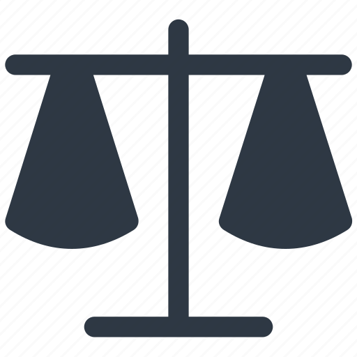 justice, law, scale, scales icon icon