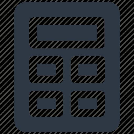 calculate, calculator icon icon