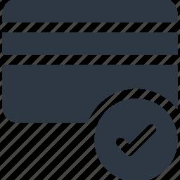 atm card, card, check, credit card, debit card icon icon