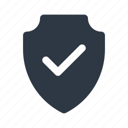 check, password, protect, safety, security, select, shield icon icon