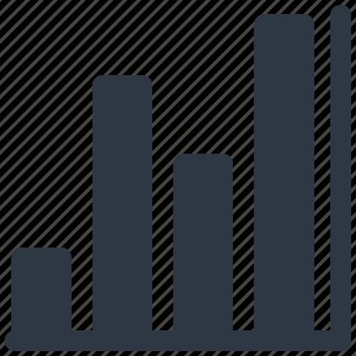 analytics, bar, chart, grow, growth, up icon icon