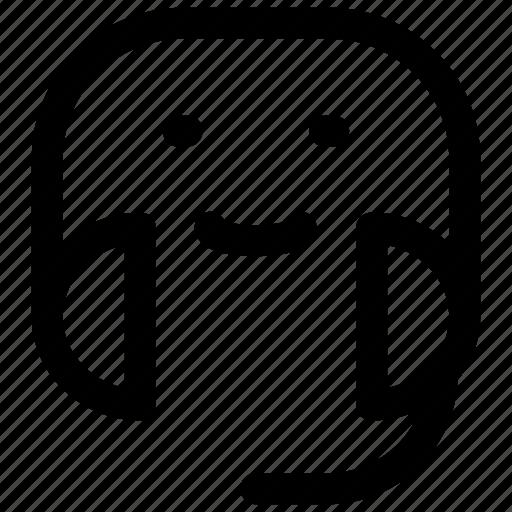avatar, customer, support icon icon