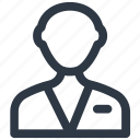 business, man, user iconv icon