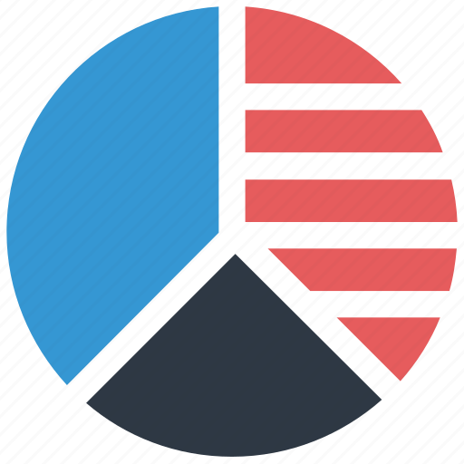 graph, pie chart icon icon