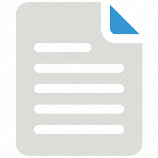 Document, sheet, text, text sheet icon icon - Download on Iconfinder