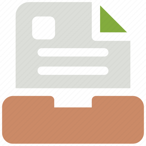 archive, file, save icon icon
