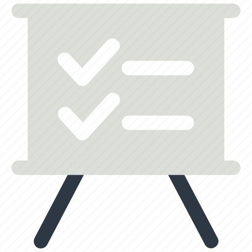 analysis, board, business, check, mark, online icon icon