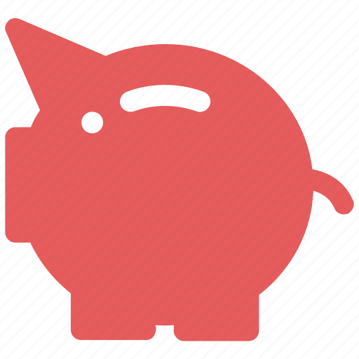 bank, piggy, piggy bank, savings icon icon