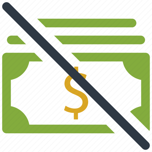 banking, cancle, cash, cur, currency, dollar, finance, money, payment icon icon