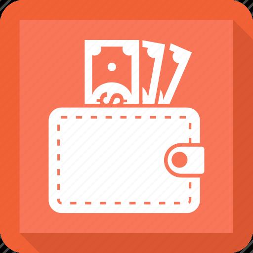 cash, finance, money, wallet icon
