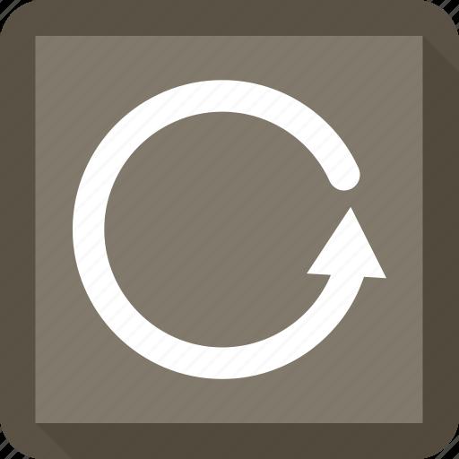 arrow, circle, history, refresh icon