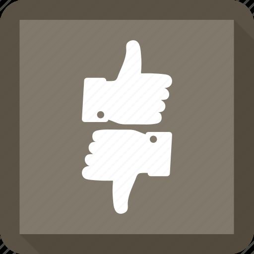 dislike, like, thumbs, up, vote icon