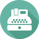 keyboard, paper, type, writer icon