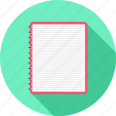 clipboard, notepad, checklist, list, paper, document icon