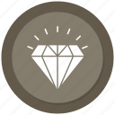 diamond, jewerly, luxury, stone icon