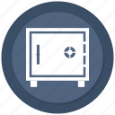 bank, locker, safe, vault icon