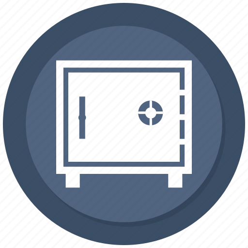 bank, locker, safe, vault icon