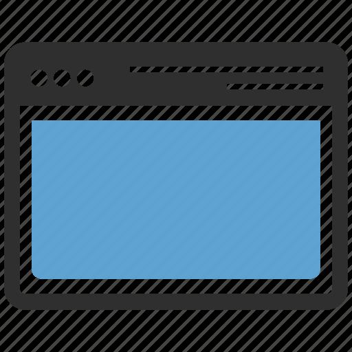 tab, web, webpage icon