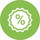 percentage, rate icon