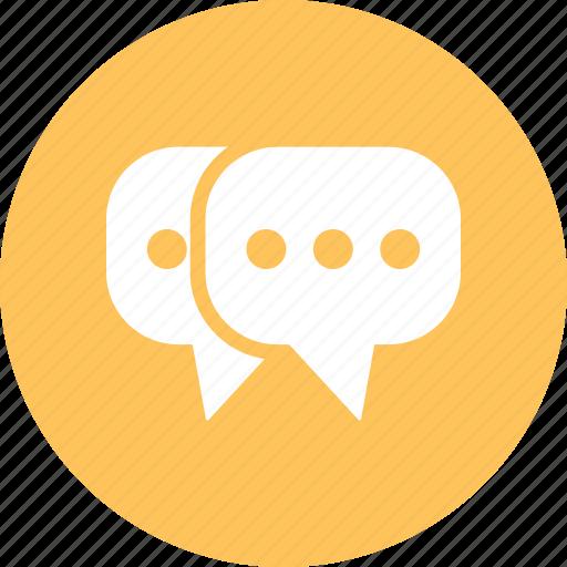 chat, conversation, sms, talk, talkchat icon