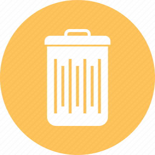 bin, custom, dust icon