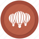 air, balloon, hot, transport icon