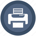 office, paper, print, printer icon