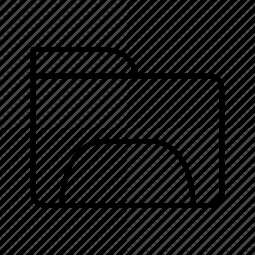 documents, folder, storage icon