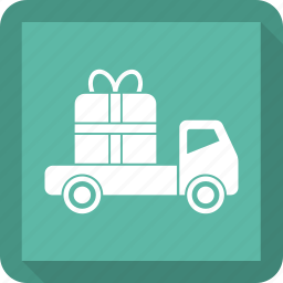 car, gift, truck, vehicle icon