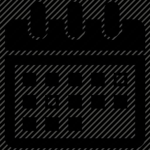calendar, deadline, event, schedule icon