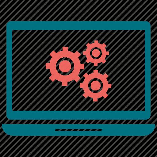 configuration, laptop, setting, settings icon
