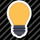 idea, lamp, light
