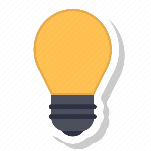 idea, lamp, light icon