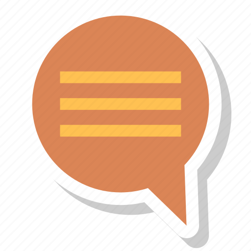 chat, message, msg, talk icon