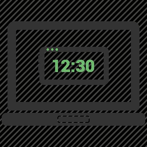 computer, device, laptop, laptop computer icon