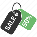 discount, percent, percent tag, price tag, sale icon