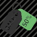 discount, percent, percent tag, price tag, sale icon