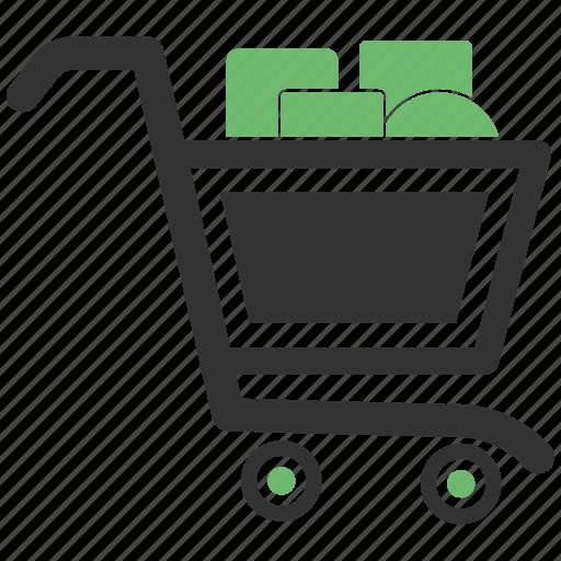 dollar, ecommerce, minus, shopping, shopping cart, shopping trolley icon