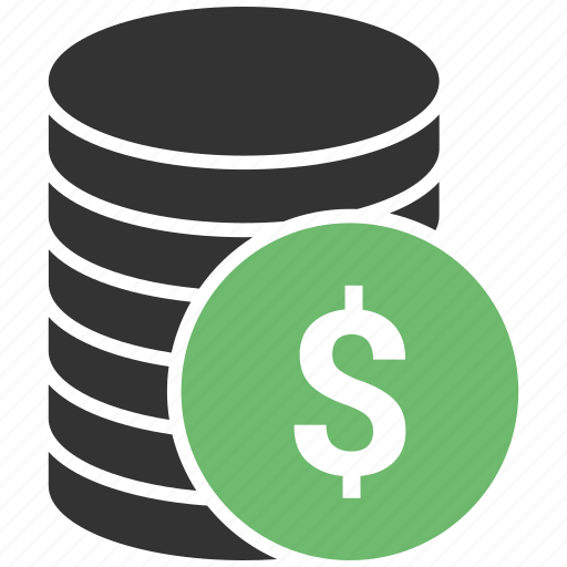 cash, coin, dollar, finger, hand, payment, shopping icon