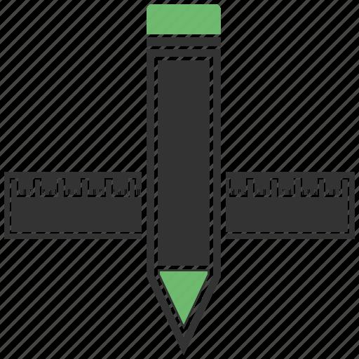building, construction, draw, graphic, pencil icon