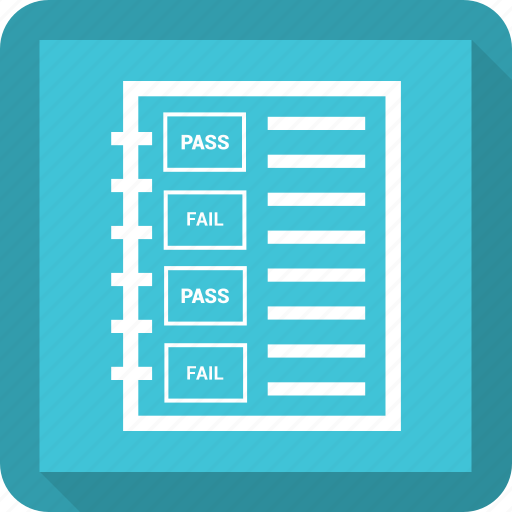 agreement, paper, scroll, test paper icon