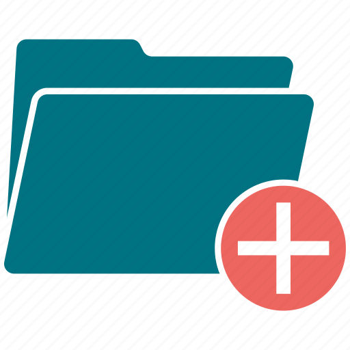 data, doc, folder, open, pluse icon